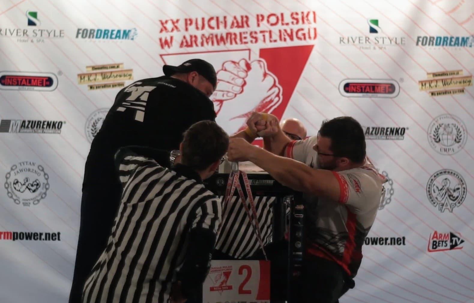 Puchar Polski w Armwrestlingu 2019