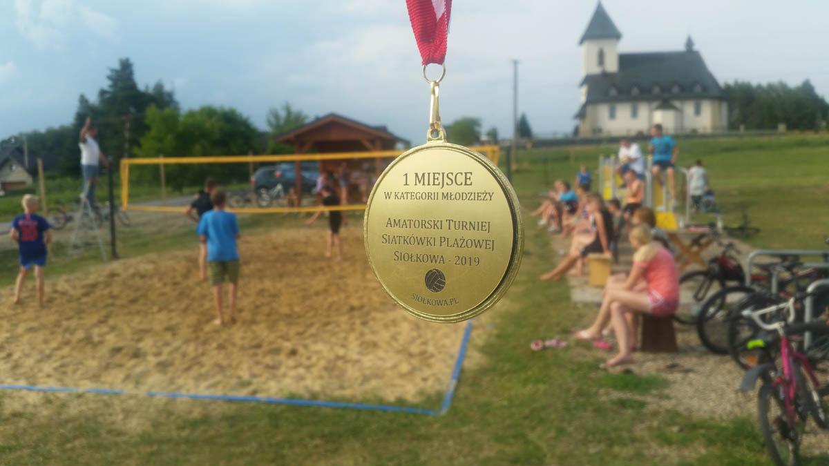 I Amatorski Turniej Siatkówki Plażowej w Siołkowej (2019) – relacja, wyniki